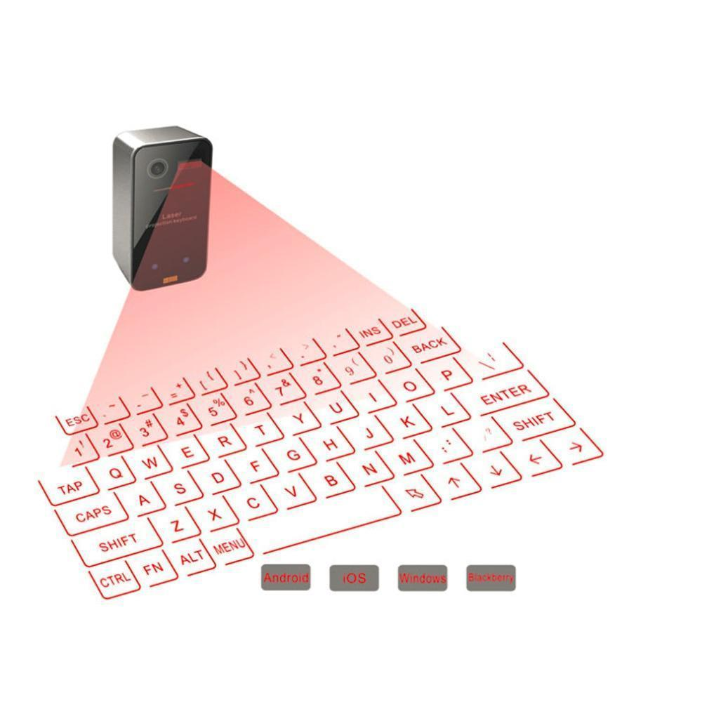 Portable Laser Projection Keyboard