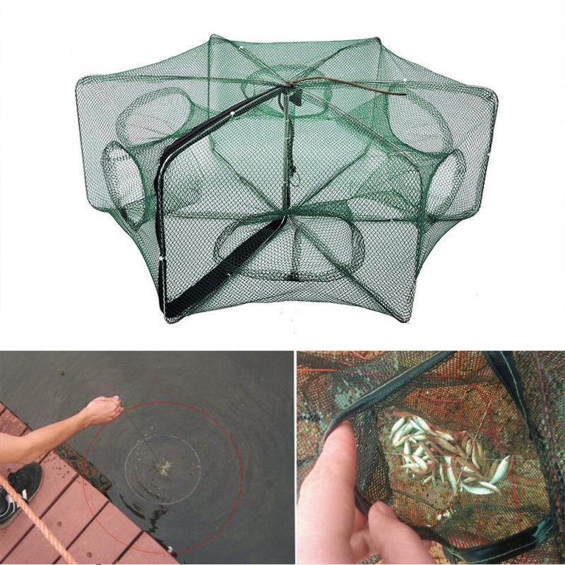 Fold-able High Quality Fishing Net