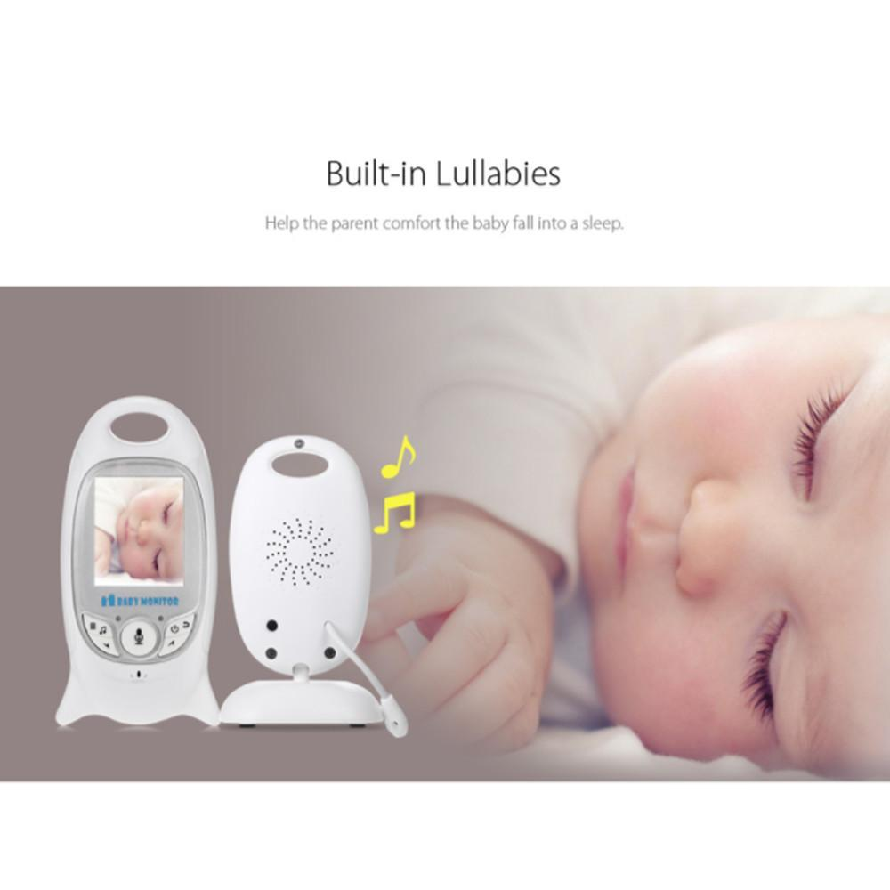 Wireless Video Radio Babysitter Digital Baby Sleep Monitor