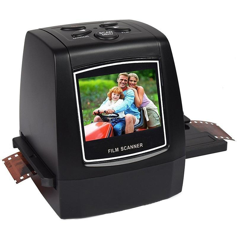 All-In-One HD Film & Slide Photo Scanner High Resolution Converts Negatives / Slides High Speed