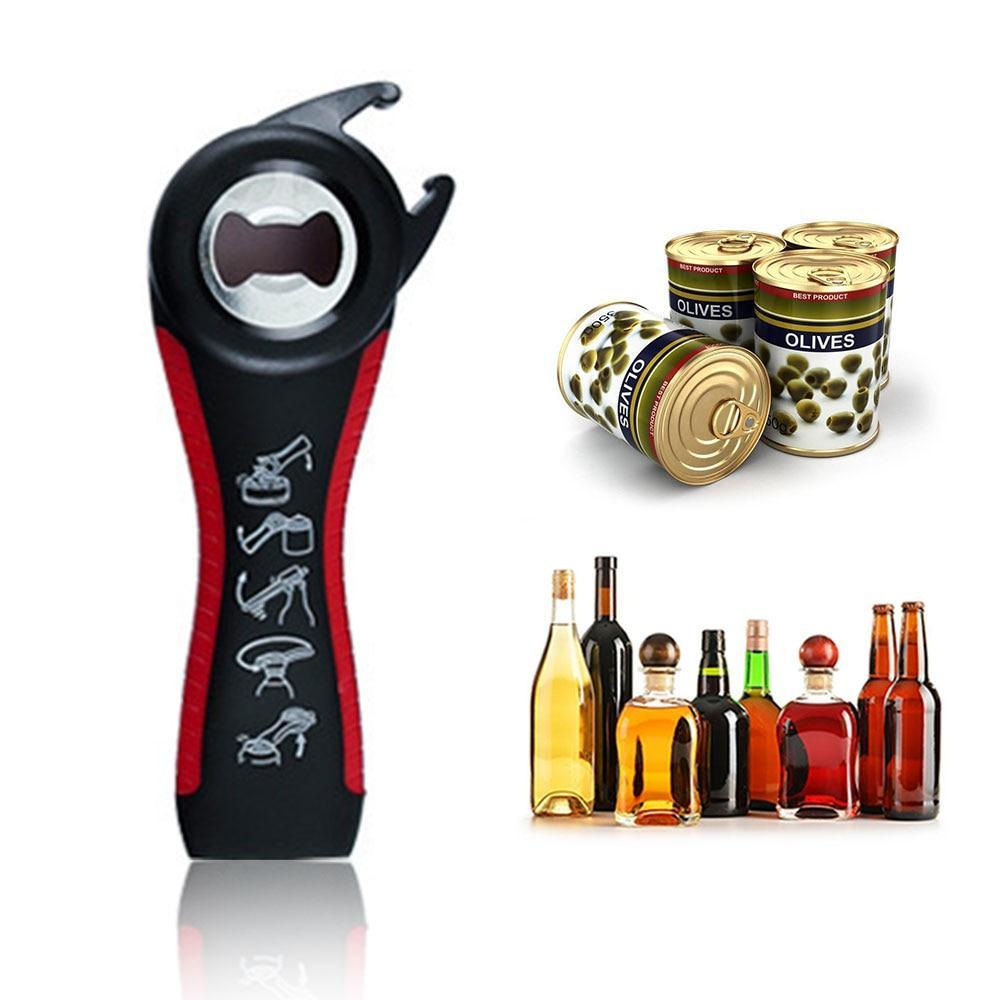 Multi-function Five-in-one Bottle Opener