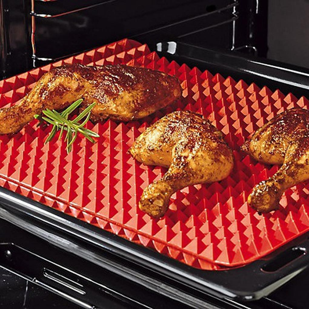 Non Stick BBQ Mat And Baking Tray