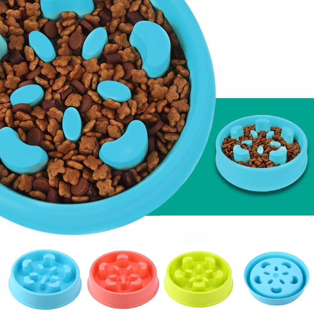 Anti-Gulping Pet Feeding Bowl