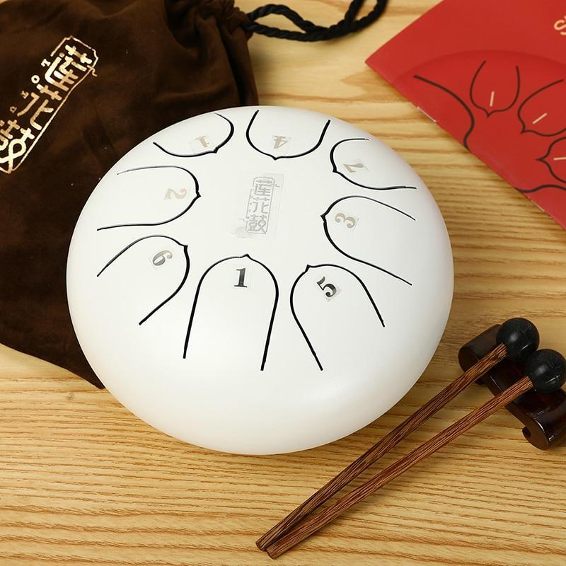 6-inch Steel Tongue Percussion Drum