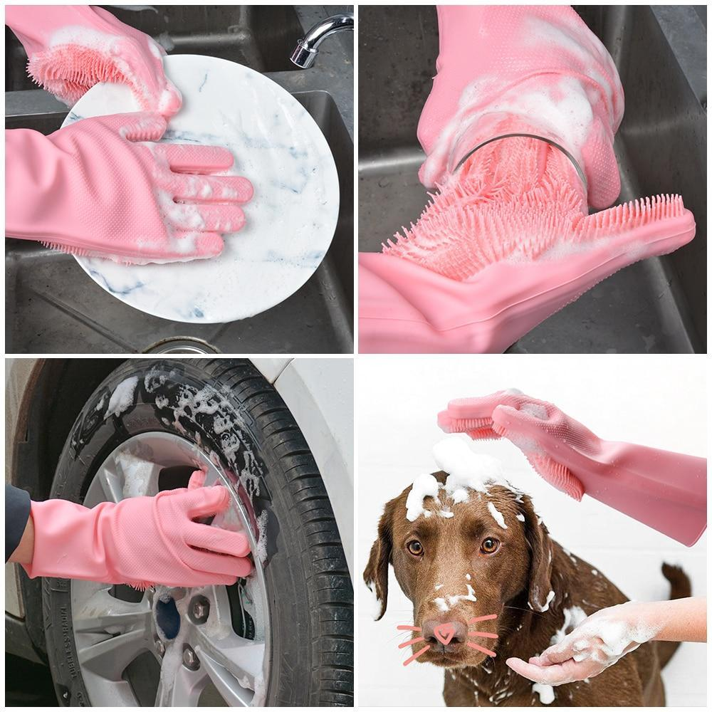 Magical Cleaning & Washing Gloves