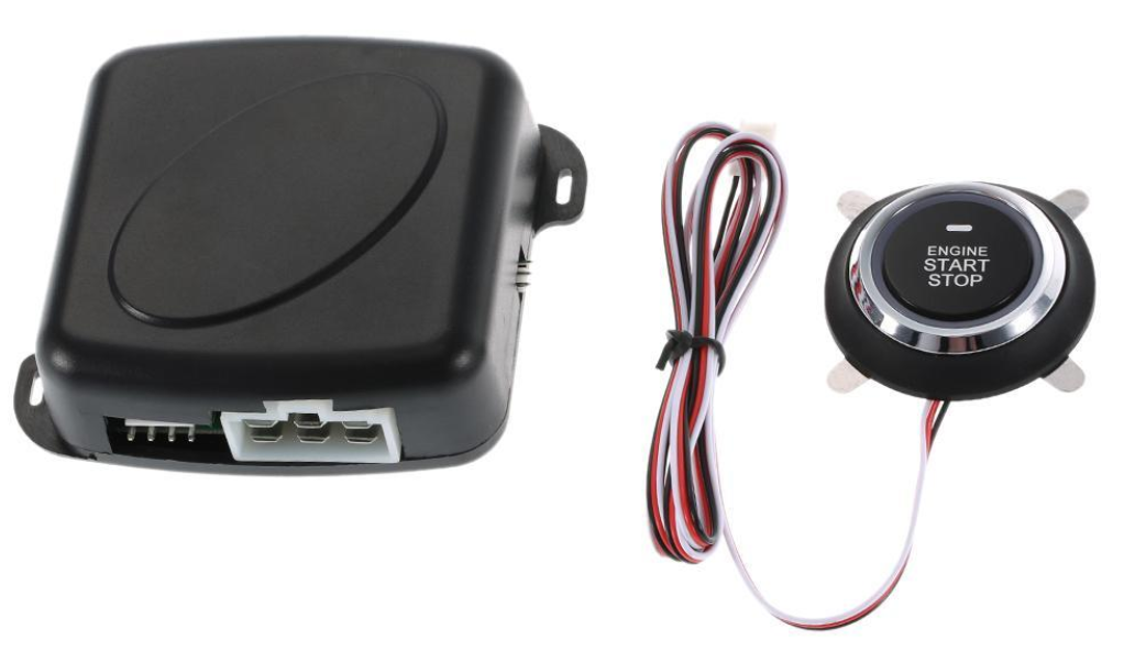 Car Anti-Theft System With Immobilizer Keyless Start Stop