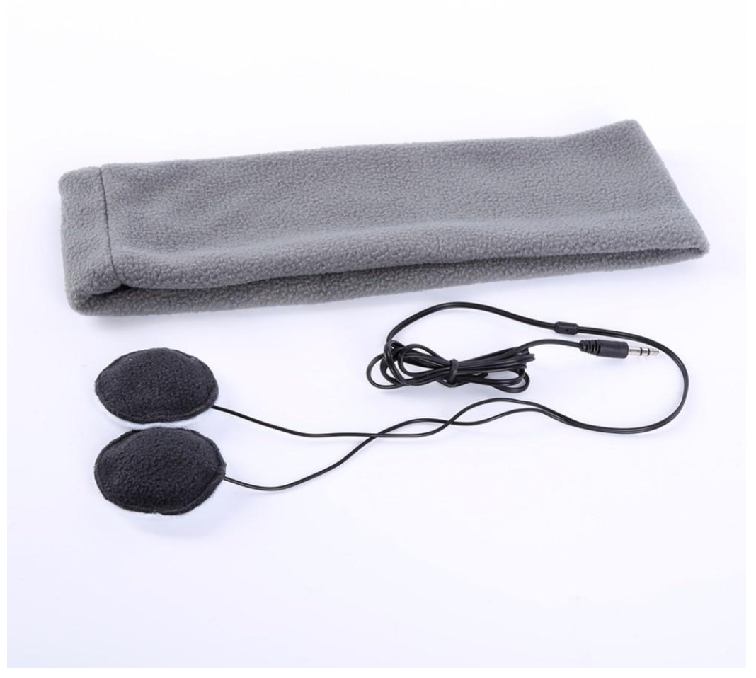 Noise Cancelling Headphone Headband For Sleeping or Jogging