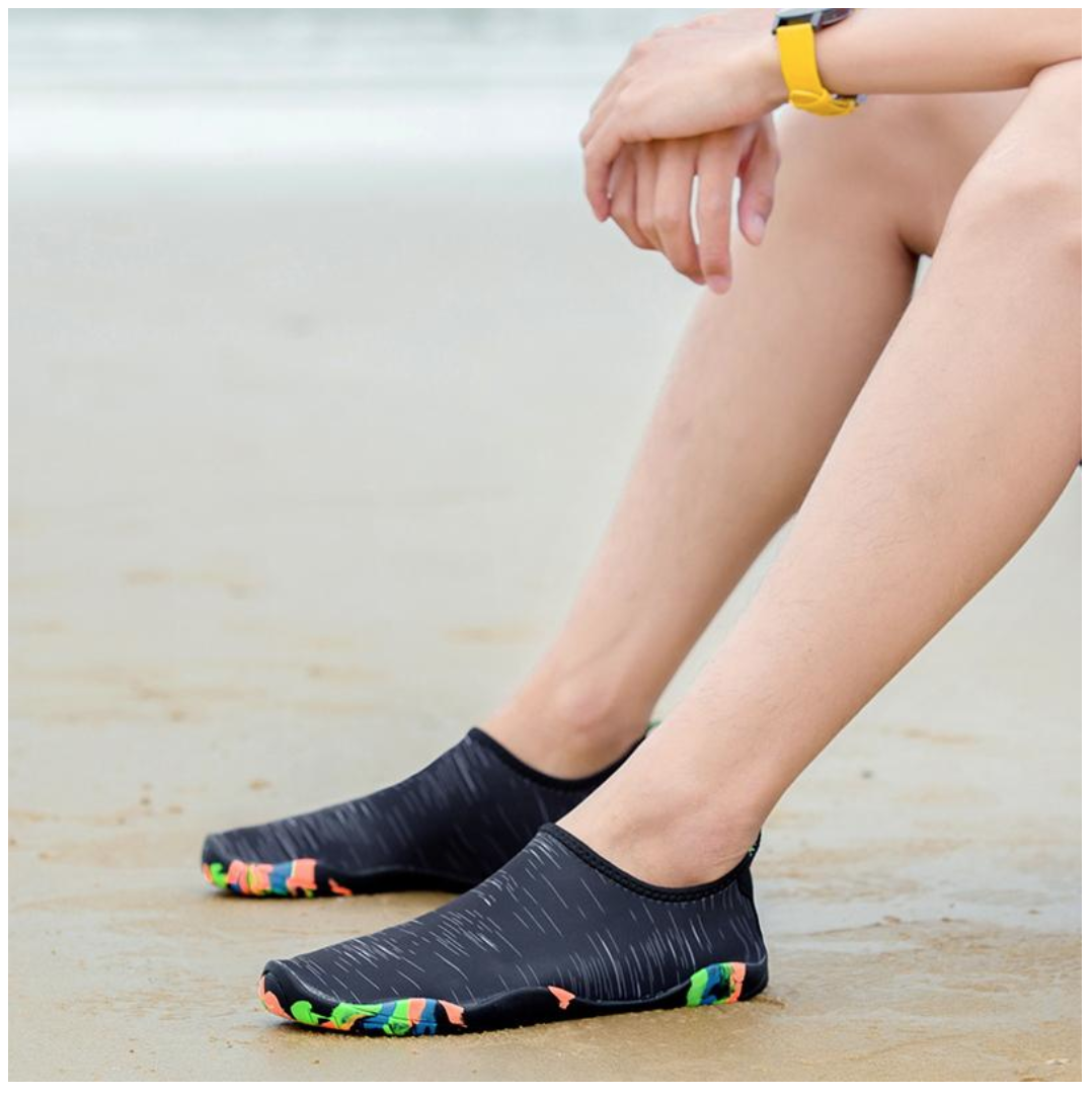 Premium Durable Flat Beach Aqua Slippers