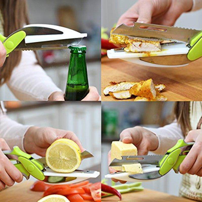 Smart 6 in 1 Kitchen Utility Knife