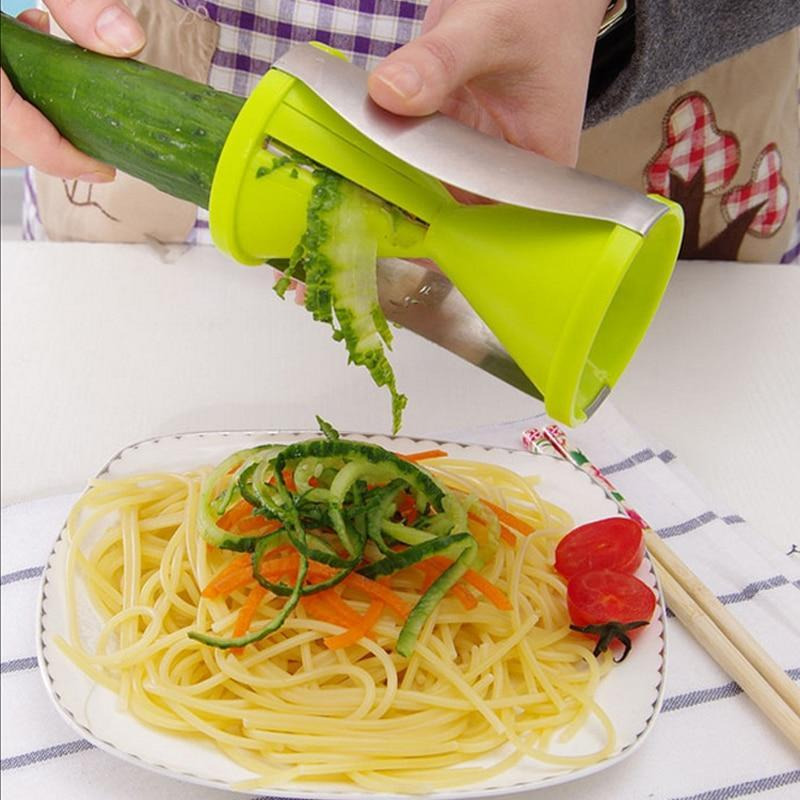 Vegetable Spiral Slicer And Cutter