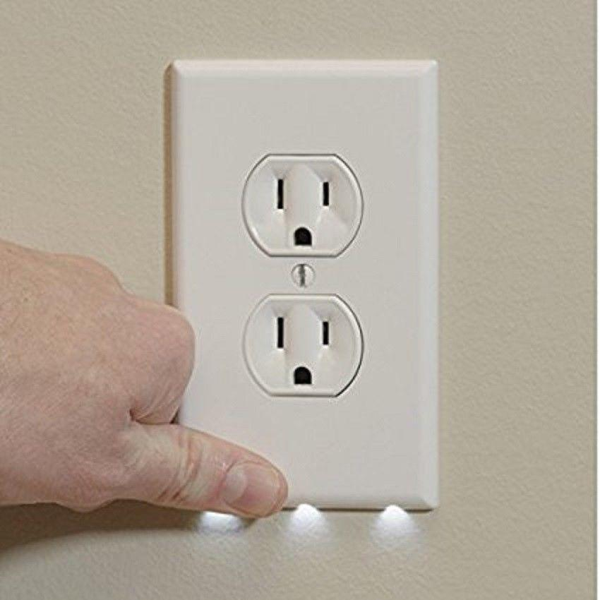 Wall Outlet LED Lights