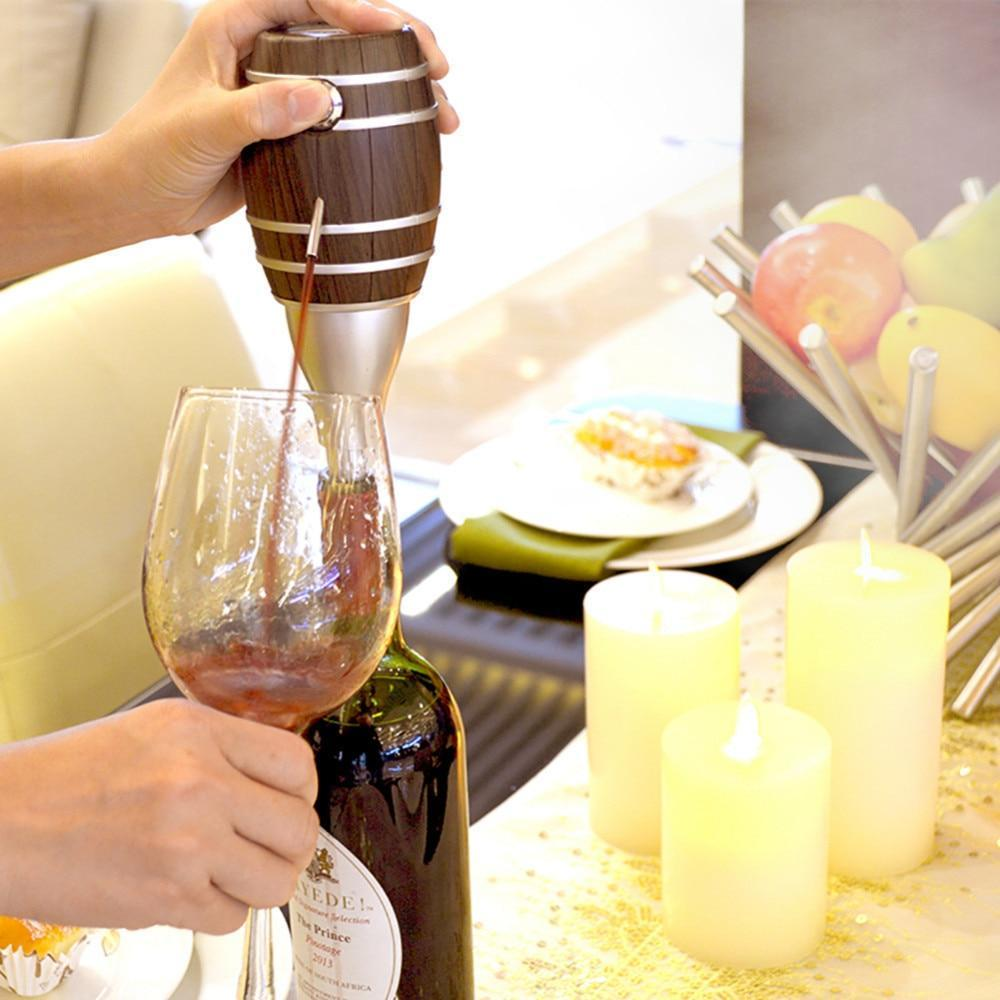 Barrel Shaped Electric Wine Decanter