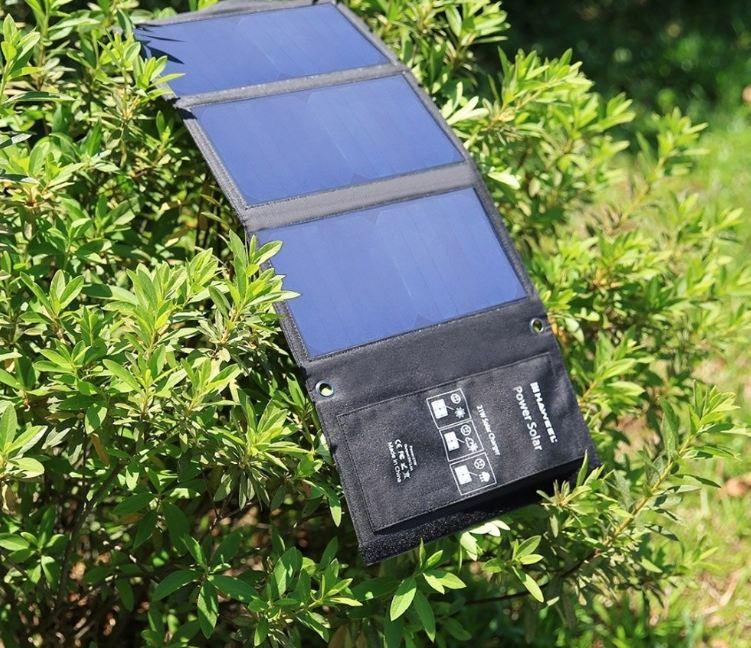 14W Output Devices Portable Solar Panels for Smartphones, Laptop, Cells Charger