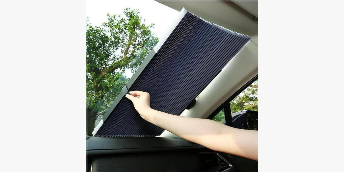 Smart Car Retractable Curtain With UV Protection
