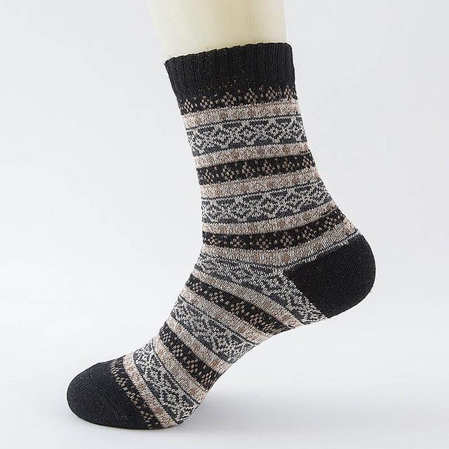 Wool Nordic Socks
