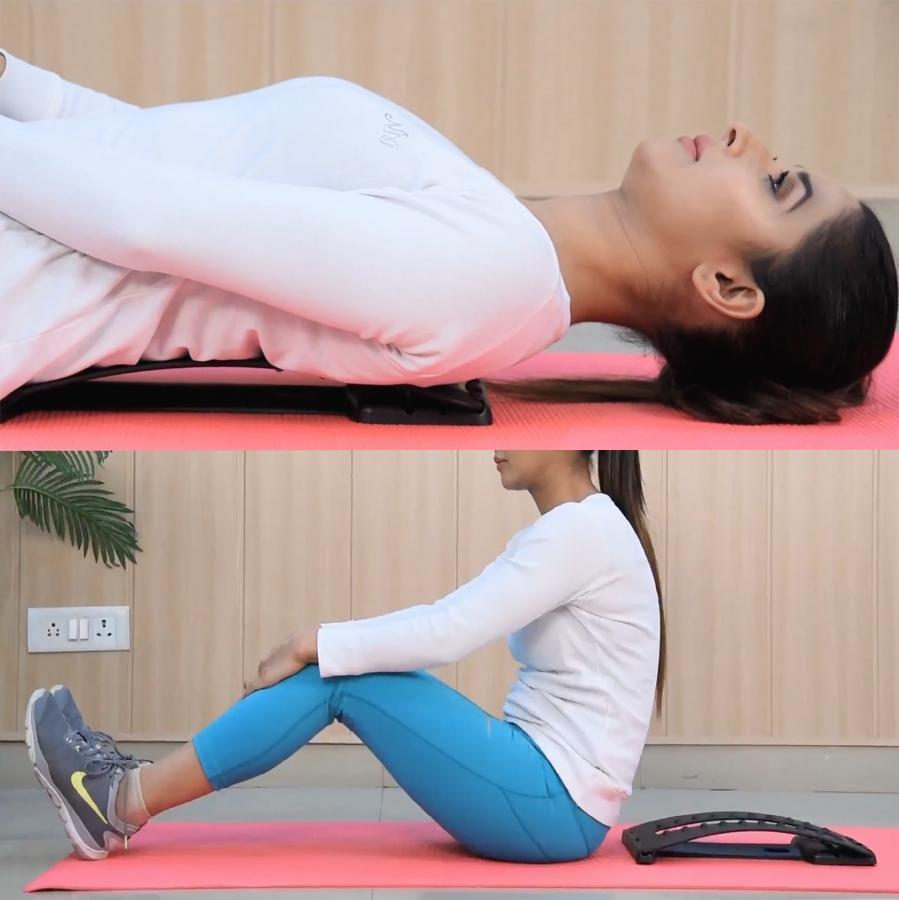 Lumbar Stretcher for Back Pain Relief