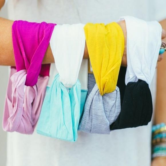 Boho Twist Colorblock Headband