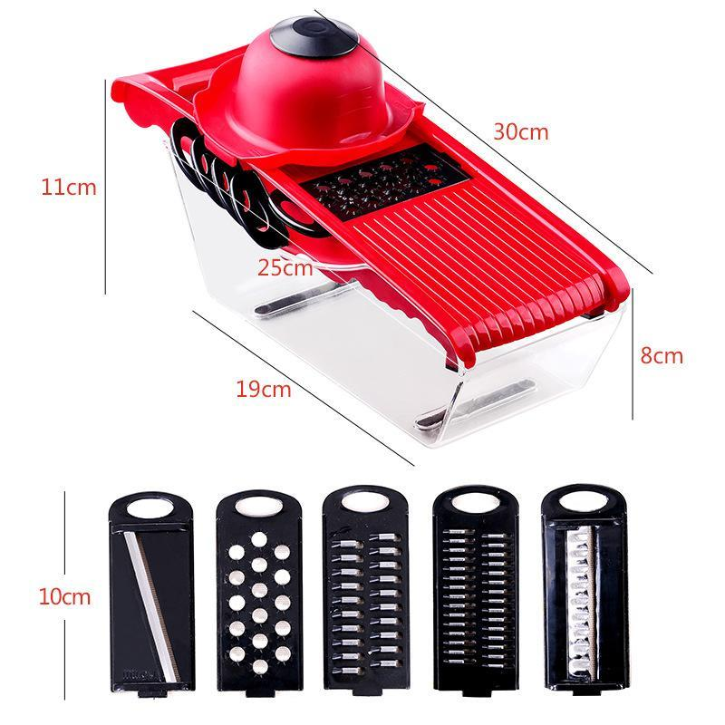 Vegetable Cutter Potato Slicer Carrot Grater Julienne Onion Dicer