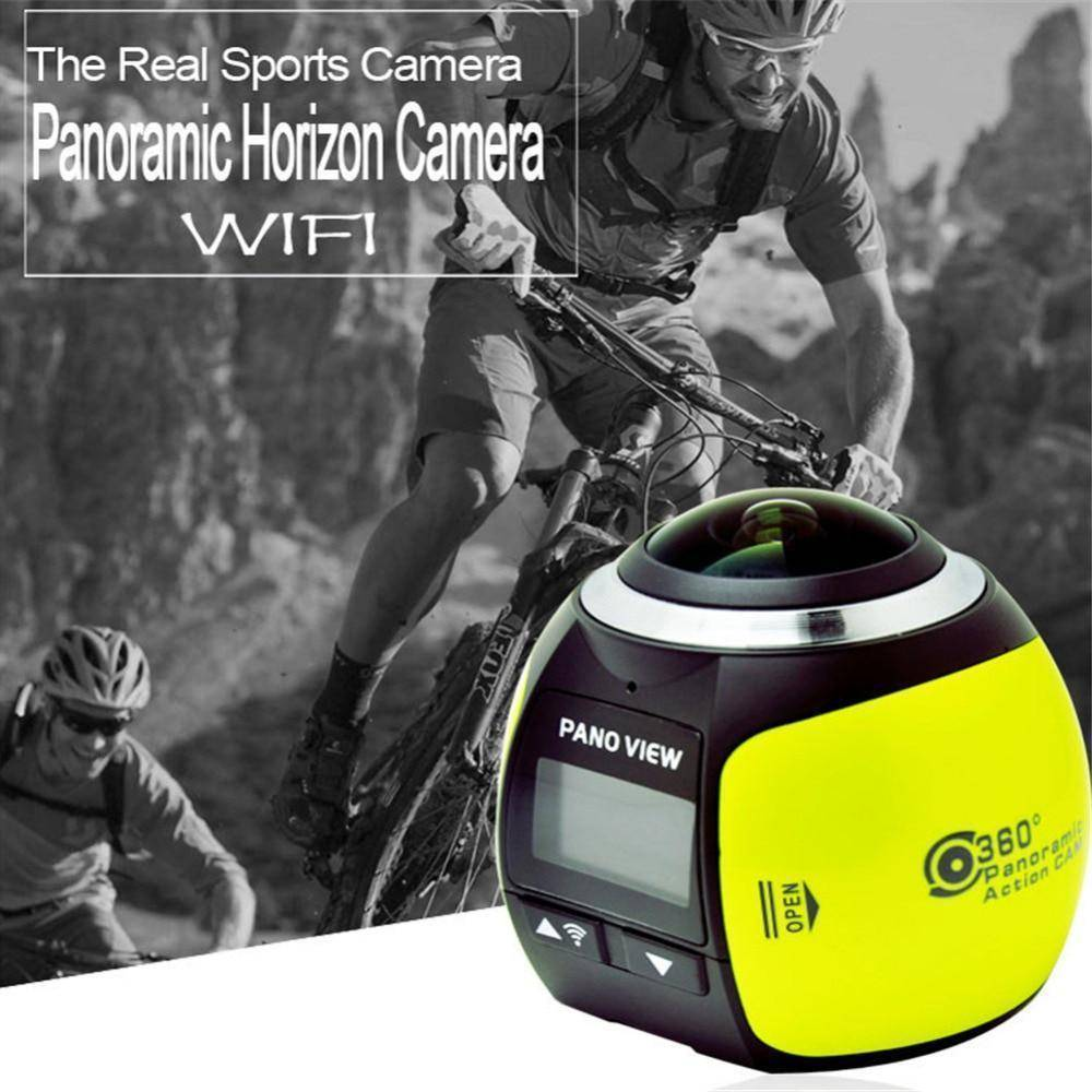 Rondaful V1 4K Camera 360 Degrees Panoramic Lens Sport Camera Professional Camera HD Wifi Photo Camera HD Action Camera