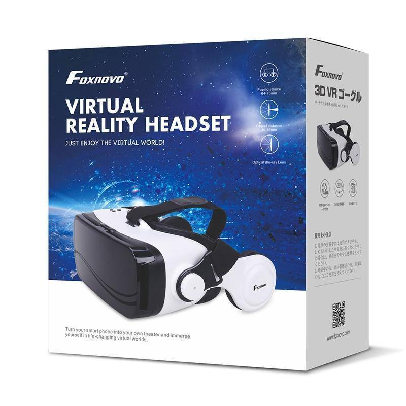 Virtual Reality Headset For Your iPhone or Android
