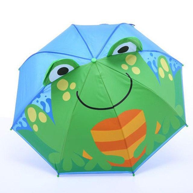 Cartoon Patterns Umbrellas Kids Boys Girls Paraguas Parasol