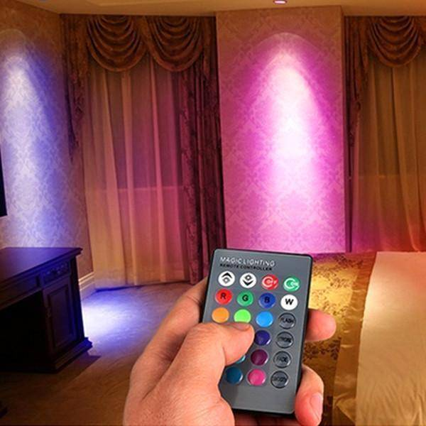 Color Changing LED Light Bulb with Remote