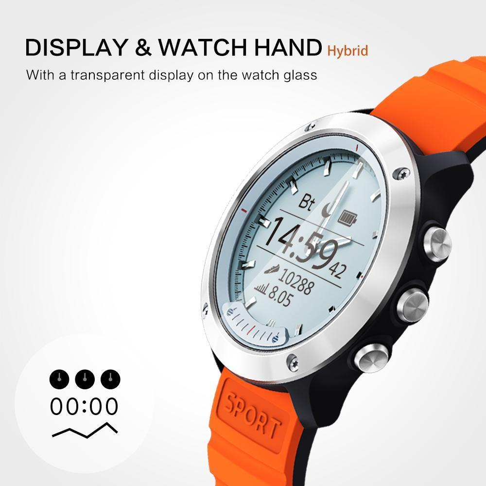 Men's Smartwatch for Android - Waterproof