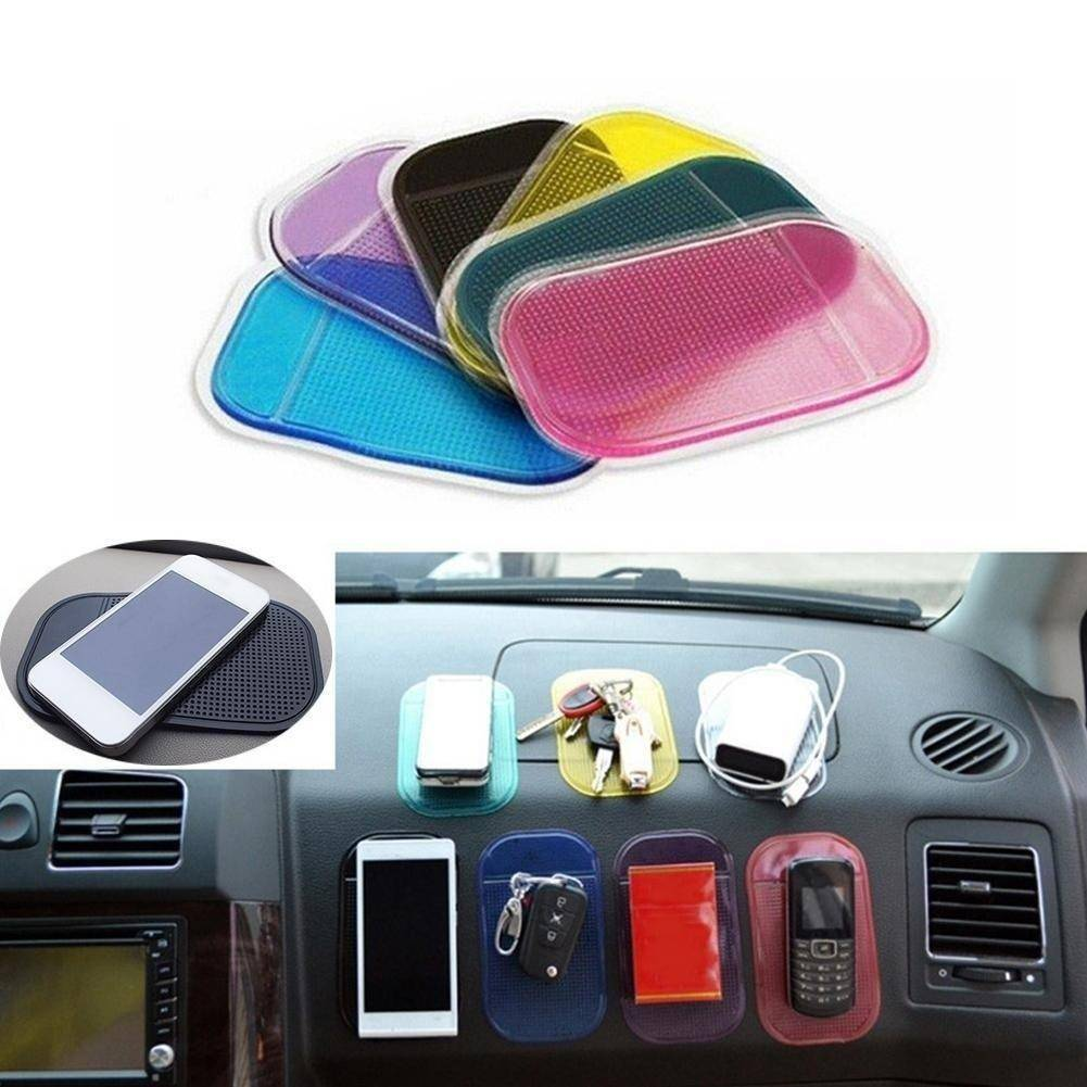Magic Stick Pad - Made of Silica Gel - Anti Slip Mat For Car Mobile Phone