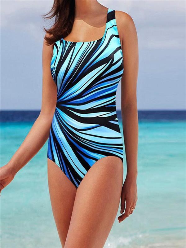 Women's Plus  One Piece Push Up Swimsuit & Monokini