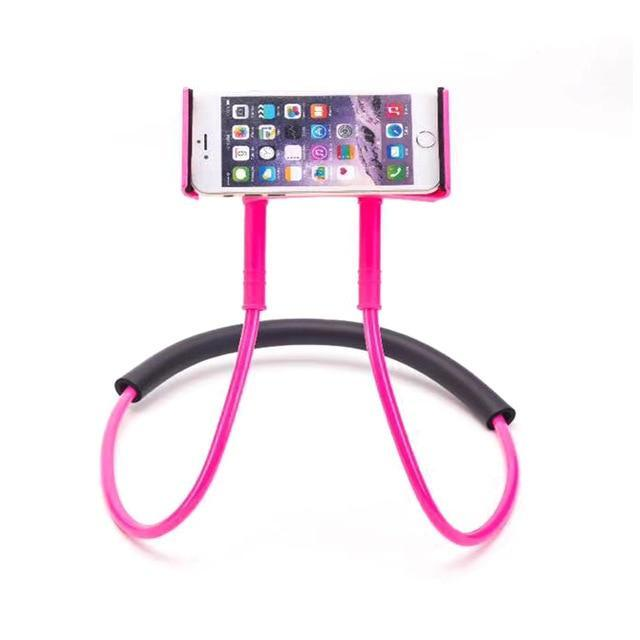 Neck Phone Holder Stand