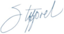 Stafford's signature