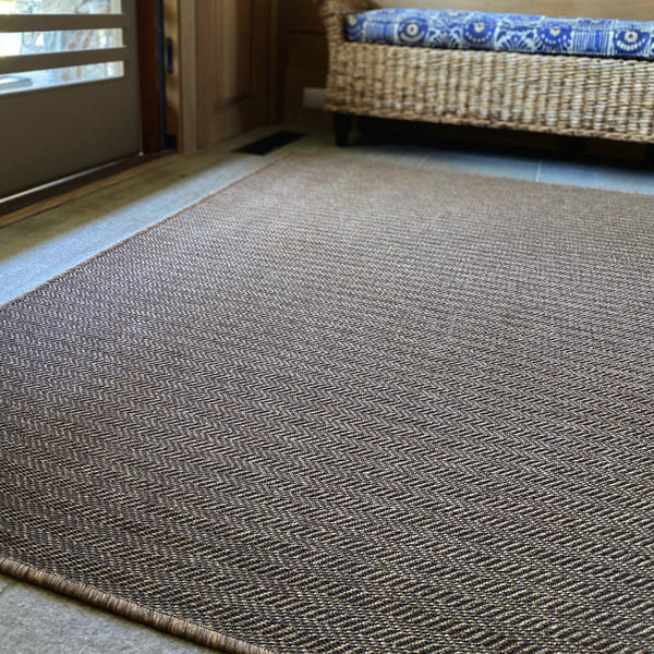 The Innerweave - Chevron (Natural) / Area Mat