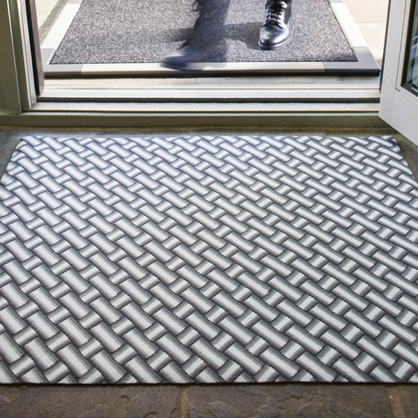 The Insider - Herringbone (Grey) / Doormat