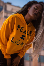 Affirmation  Peace & Light Crop top sweater hoodie