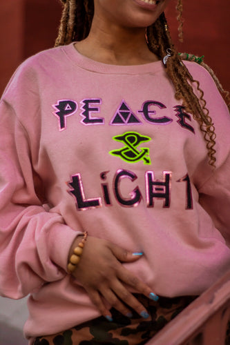 Affirmation  Peace & Light Sweater