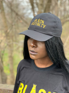 Black Royalty Crown Caps