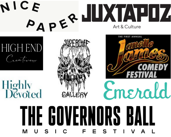 nice paper, juxtapoz, juxtapoz magazine, superchief gallery, governors ball, janelle james
