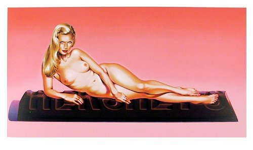 Mel Ramos, 'Sweet Odalisque', 1996 - Provocateur Gallery