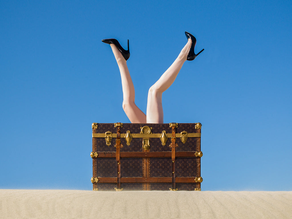 Tyler Shields, 'Louis Vuitton Legs', 2016 - Provocateur Gallery