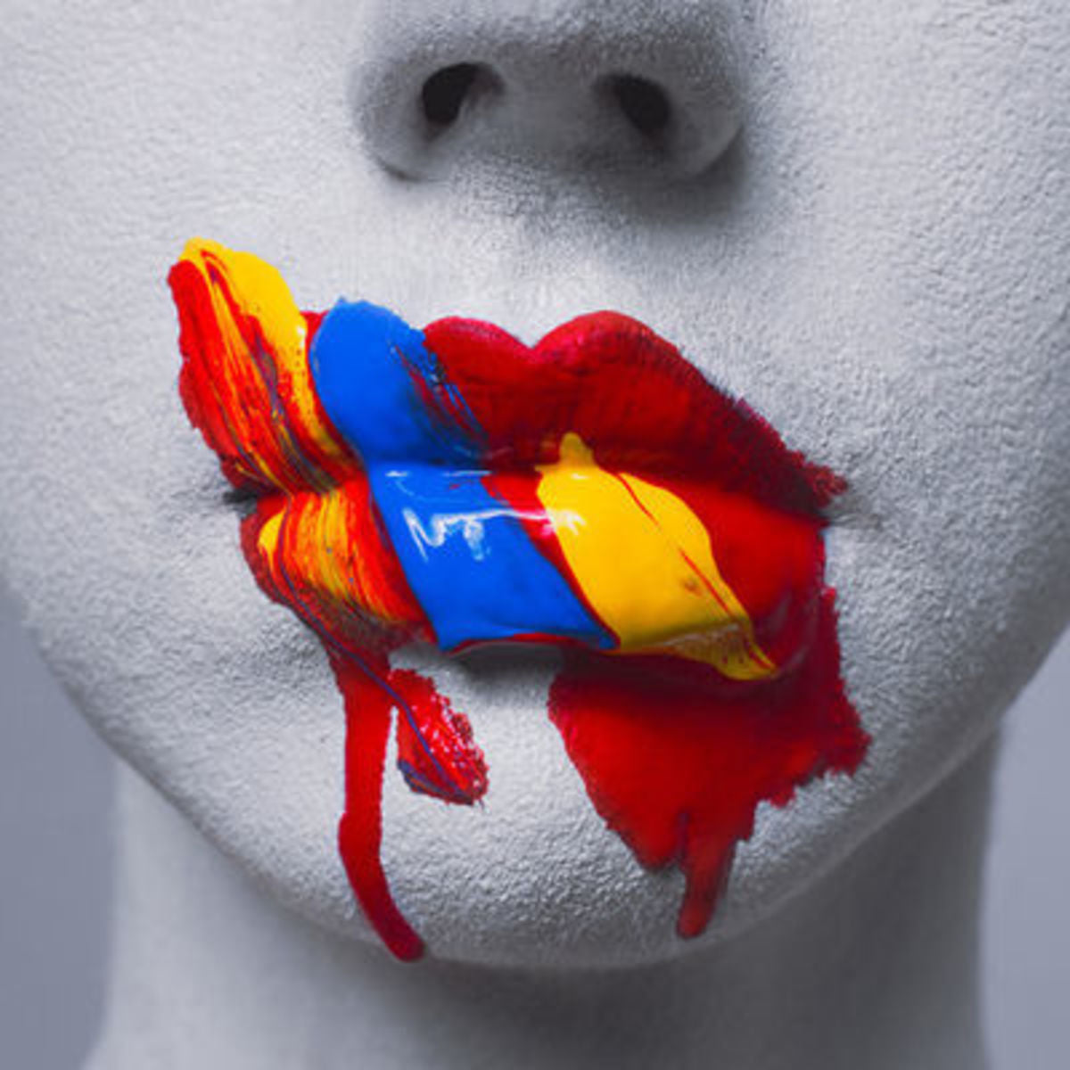 Tyler Shields, 'Primary Lips', 2019 - Provocateur Gallery