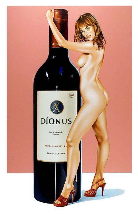 Mel Ramos, 'Dionus', 2002 - The Provocateur Gallery