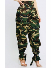 Load image into Gallery viewer, Olivia High Waist Camo Pants
