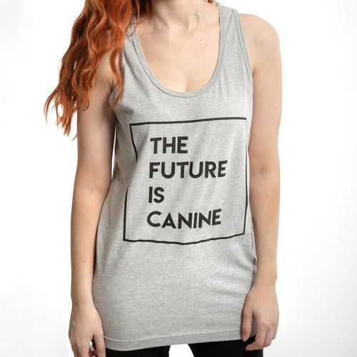 The Future Is Canine Tank Top