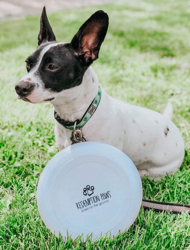 Redemption Paws Logo Frisbee