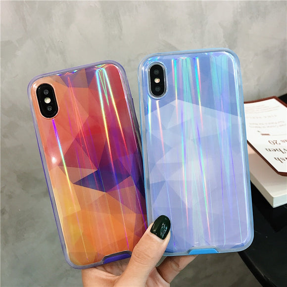 Colorful Prism Holographic iPhone Case