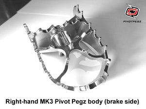 One new Right-Hand MK3 Pivot Pegz body