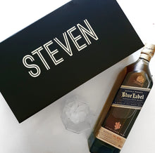 Load image into Gallery viewer, Groomsman 'Name' Spirit bottle Box