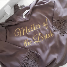 Load image into Gallery viewer, Kate Collection- Bridal Party Cotton/Lace Robes.