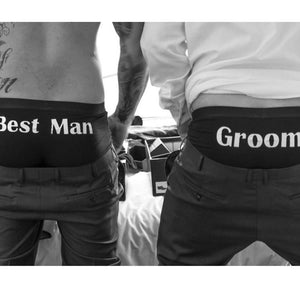 Men's Personalised Boxer Briefs.