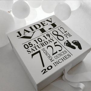 Birth Announcement Box